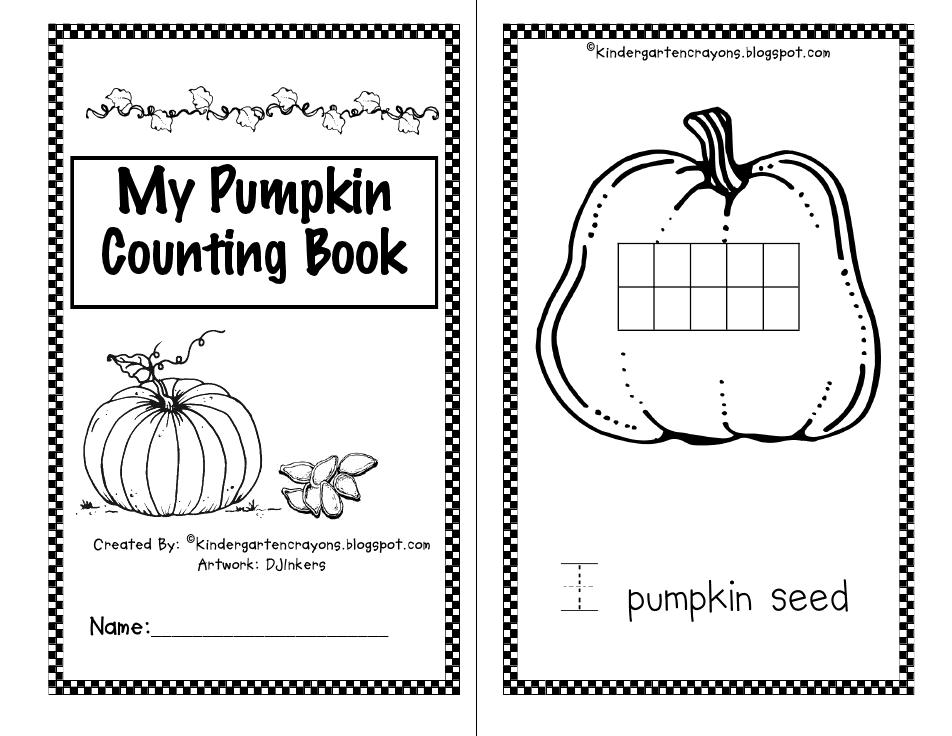pumpkin math book | Thematic Units | Pinterest