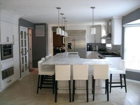 Irregular Shaped Kitchen Islands Full Size Of L Layout How Much Is A Island  With Photos