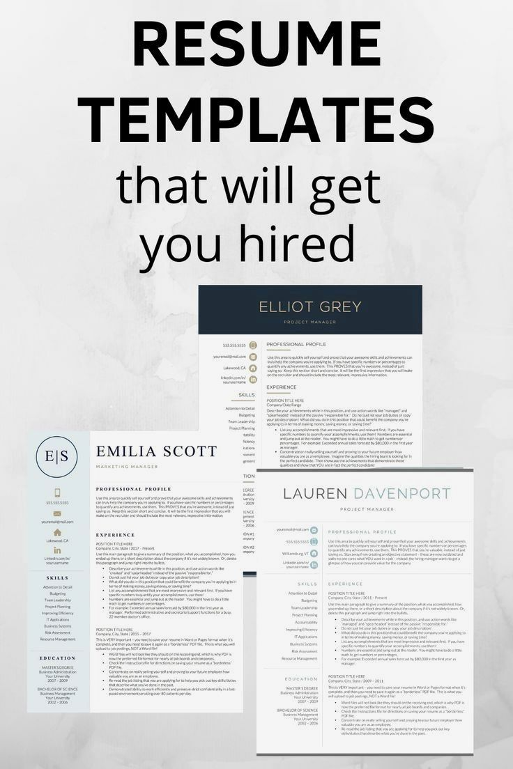 10 Important Resume Tips in 2020 Resume tips no
