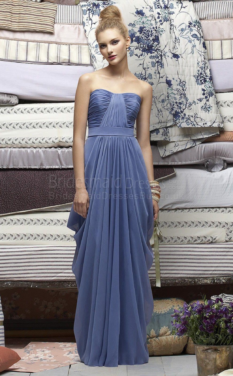 Royal blue bridesmaid dresses m un wedding the real thing