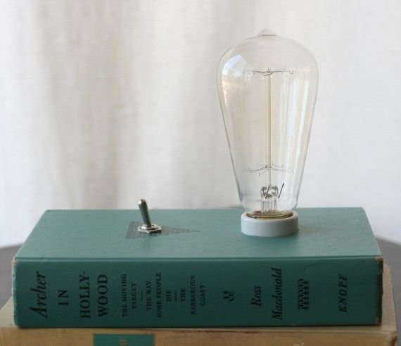 Hardback Book Lamp Amazing Iluminacion Reciclar Proyectos