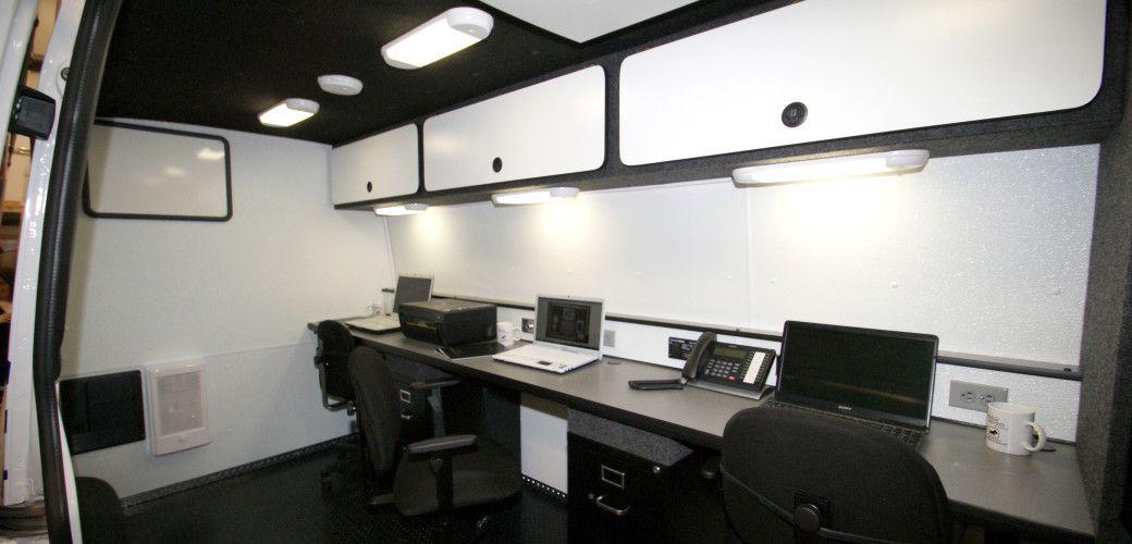 7832545765 Mobile Office Equipment for Vans