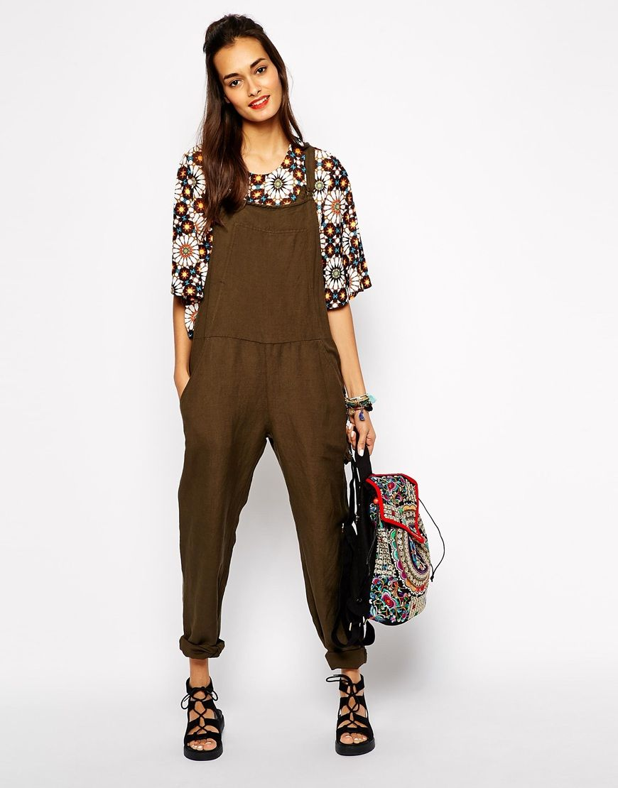 c652d457e7 Native+Rose+Cattledriver+Overall+Dungarees