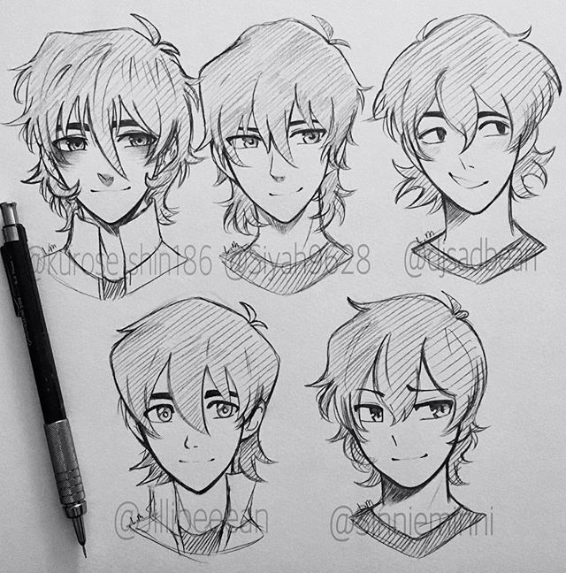 all the styles with keith so cutesie!