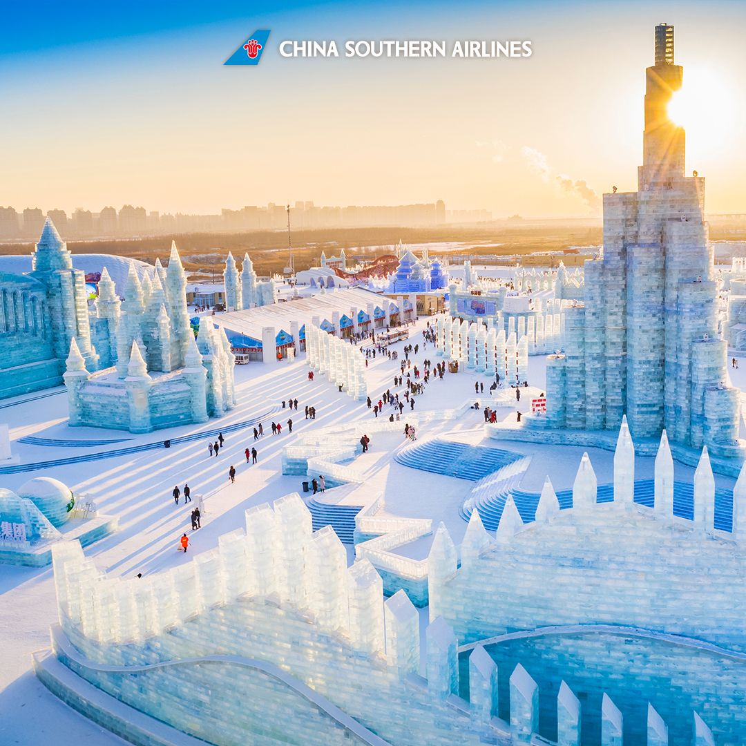 """Be sure not to miss a true """"Frozen"""" world in Harbin, China"""
