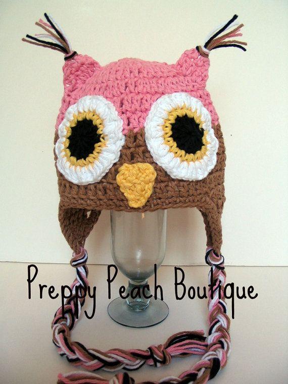 baby owl hat my favorite so far crochet pinterest owl hat