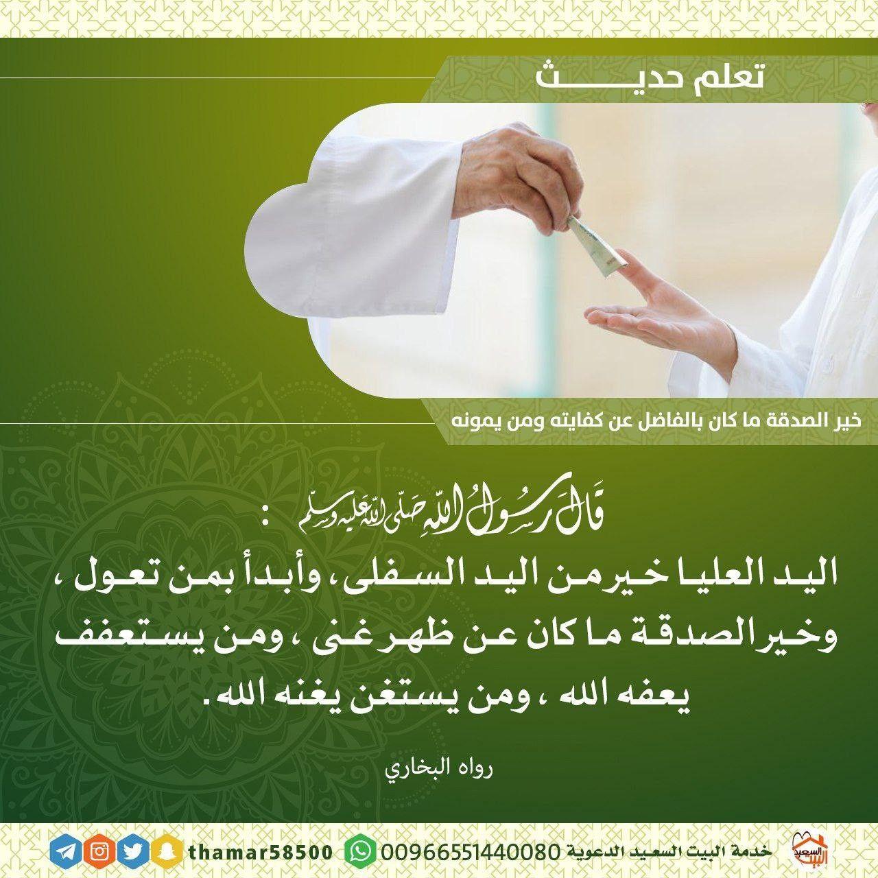 Pin By Marwa Amin On Hadith Ahadith Arabic Quotes Hadith