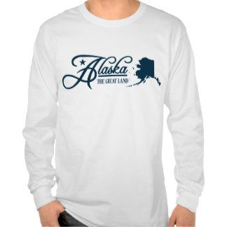Alaska (State of Mine) Shirts