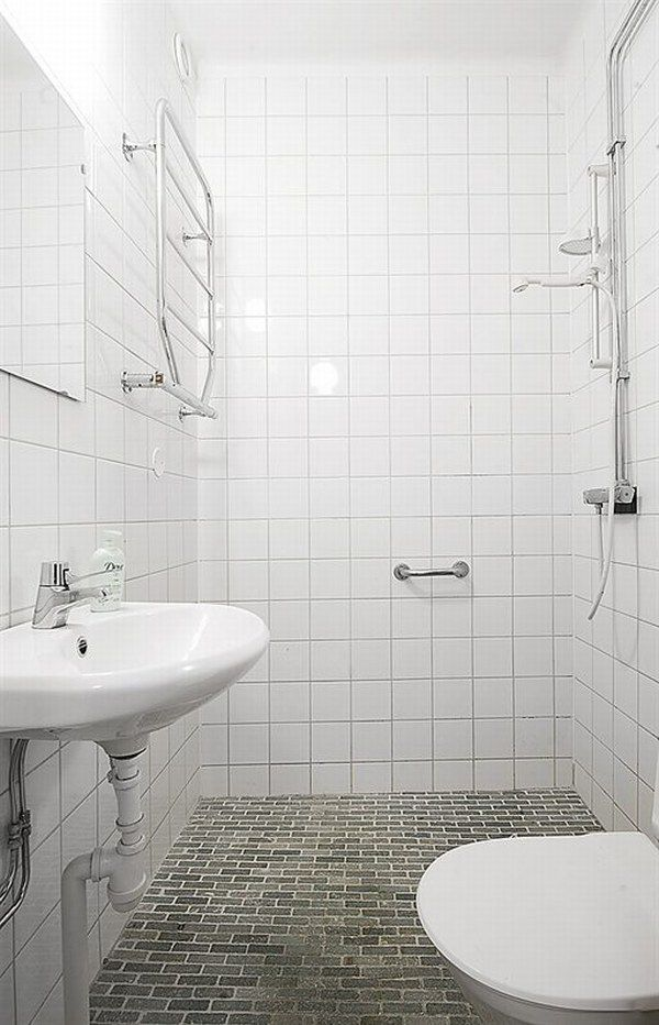 Tiny Bathrooms With Shower beautiful efficient design in a one room apartment.the tiny