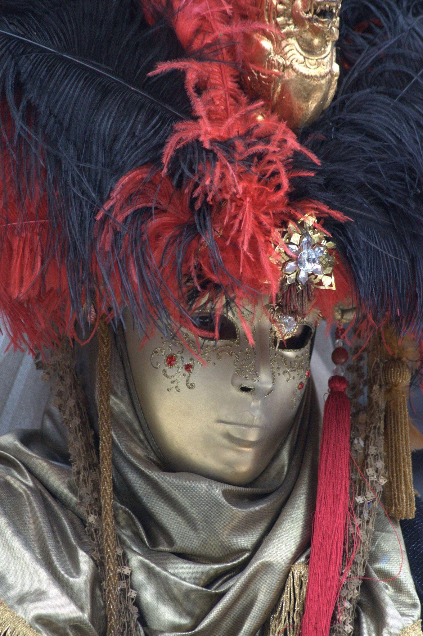 colores en  Carnaval de Venecia -