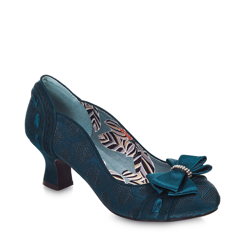 9d51d9b6260 Ruby Shoo Rhea Teal Court Shoe   wed   Ruby shoo, Shoes, Court shoes
