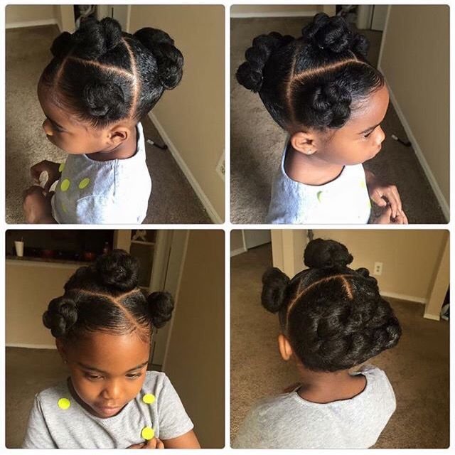 Black Toddler Hairstyles Natural Kids …  Lil Girl Hairstyles  Pinterest  Natural Kids