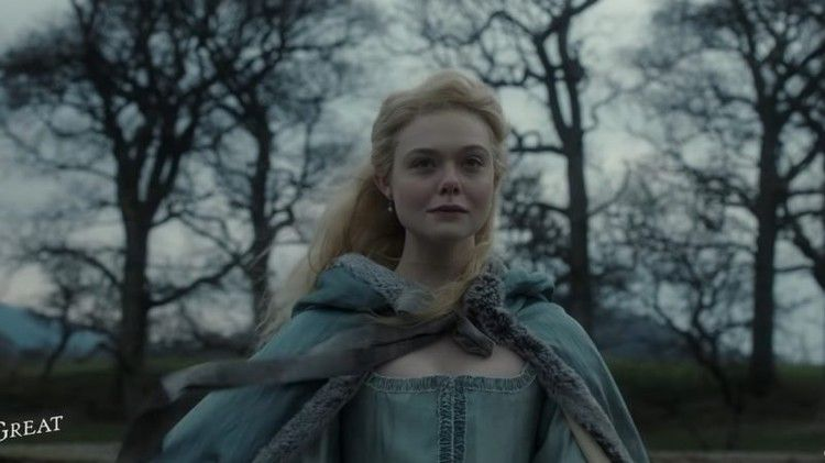 The Great Teaser Elle Fanning Stars In New Hulu Series Comingsoon In 2020 Elle Fanning Catherine The Great Greatful