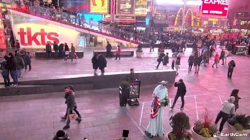 Times Square Street Cam
