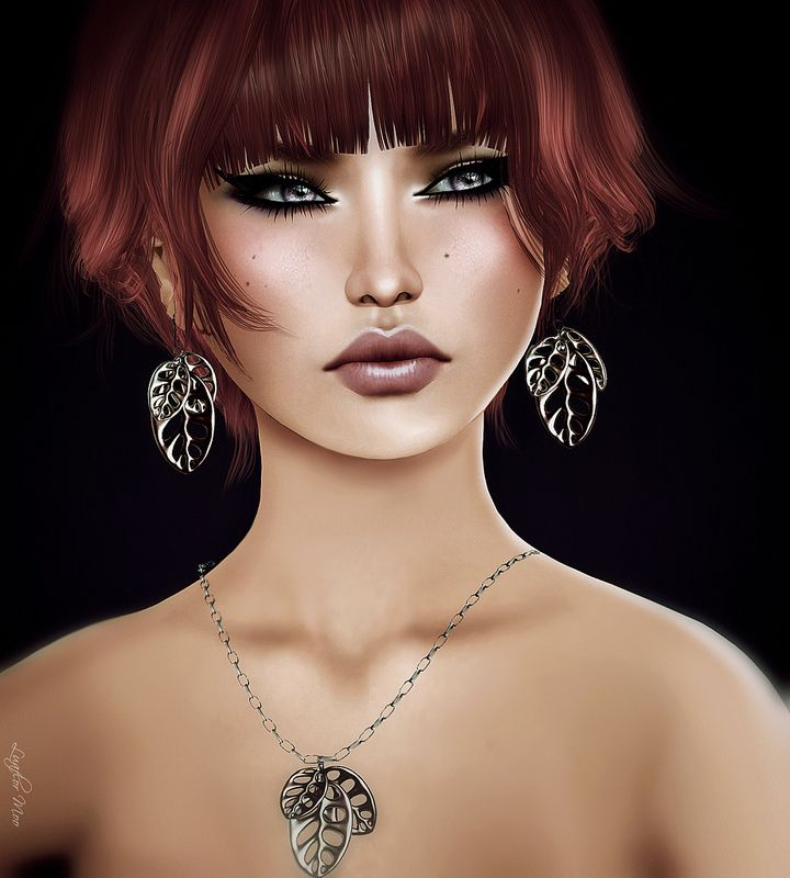 Izzies Ikon Dura Hair By Luaflor Moo Secondlife3dart