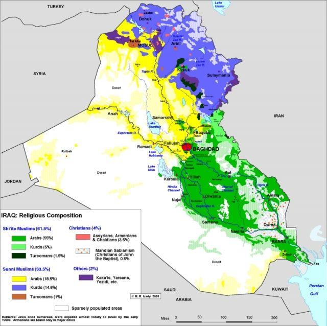Religion Map Of Asia.Iraq Religions Informative Studies Maps Pinterest Asia Map