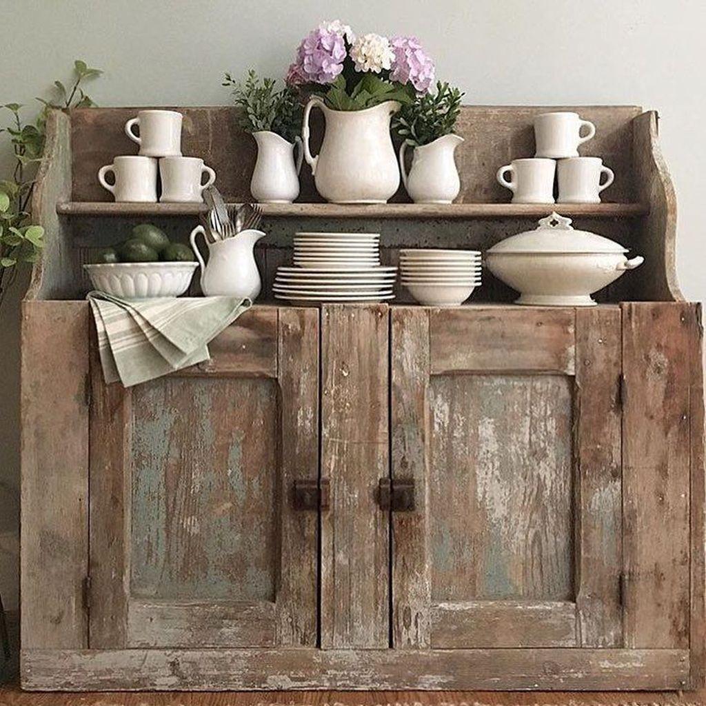 Amazing Rustic Farmhouse Style Kitchen Decorating Ideas