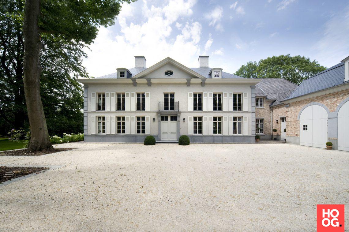 B villas renovation interiors klassieke manoir kraainem hoog
