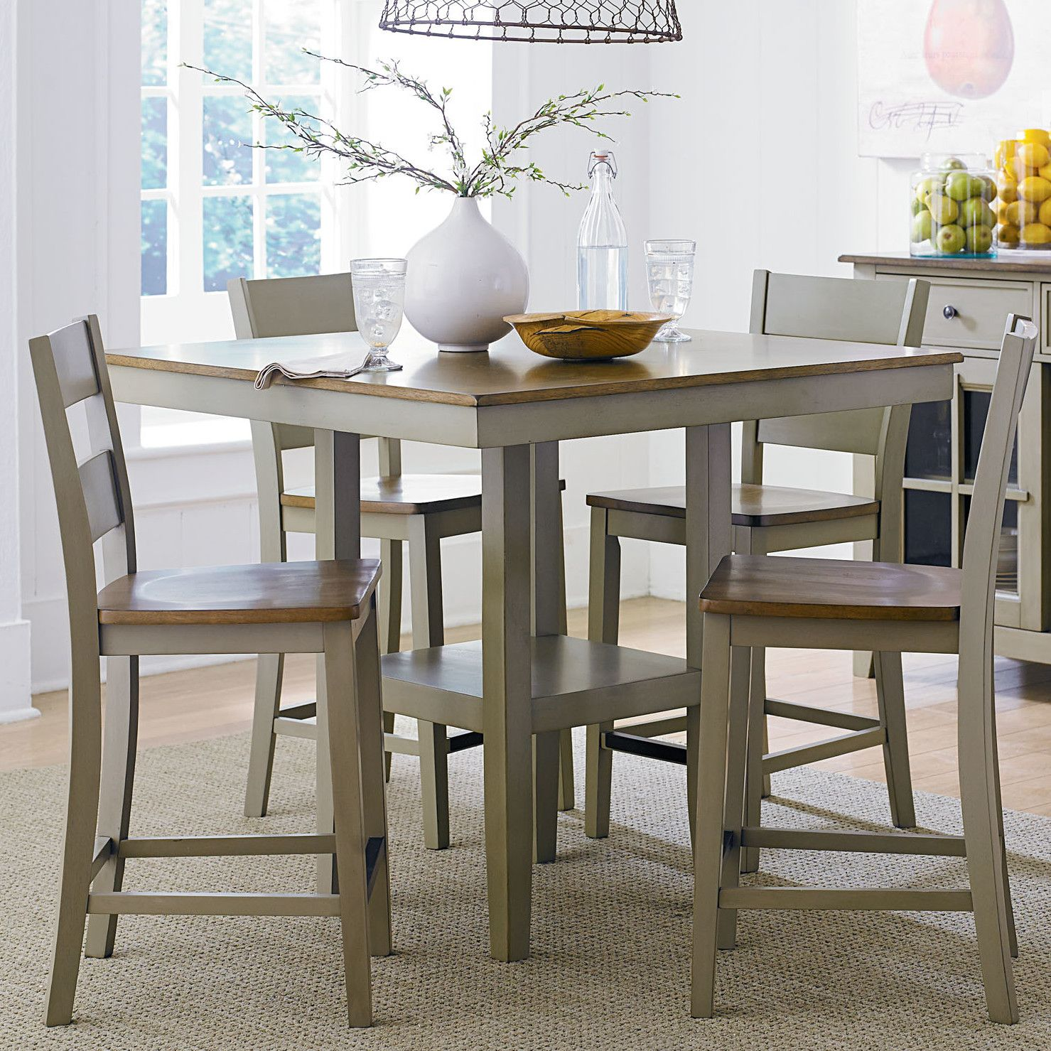 Standard Furniture Pendleton 5 Pieces Counter Height Dining Set