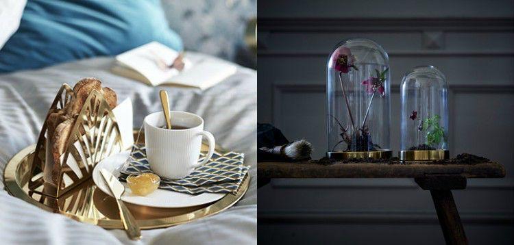 Fantastisch Ikea Deko Ideen: Kollektion Mit Glänzenden Dekoobjekten