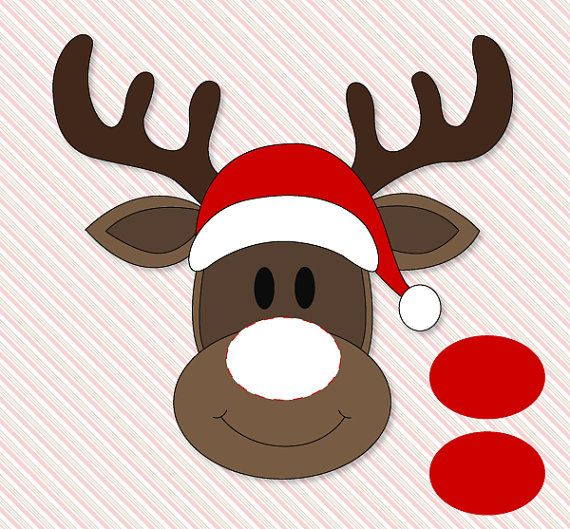 graphic relating to Pin the Nose on the Reindeer Printable identify Pin The Nose Upon Rudolph Clroom Celebration Match PRINTABLE through