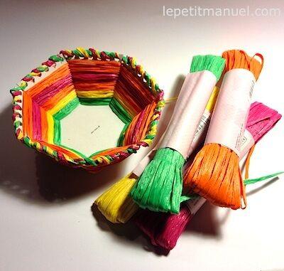 Corbeilles colorées @ Le Petit Manuel