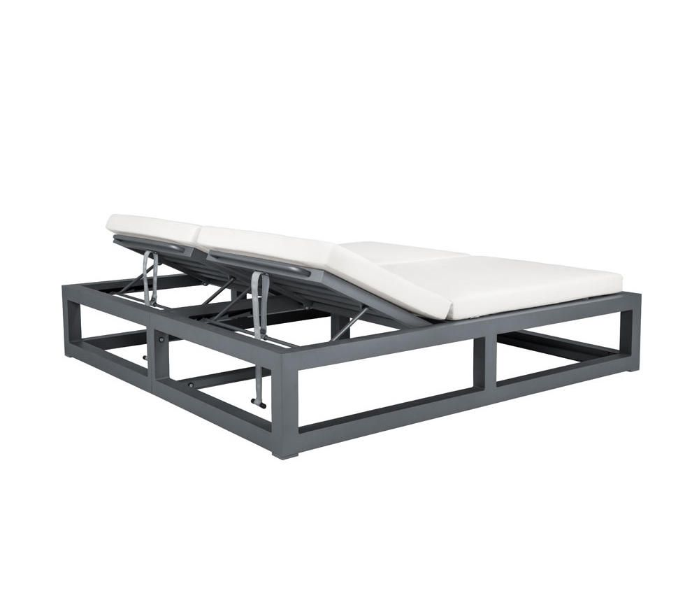 La Chaise Longue Billard duo backless daybed square - sun loungers from janus et cie