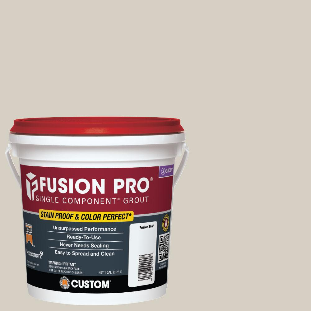 Custom Building Products Fusion Pro 545 Bleached Wood 1 Gal Single Component Grout Fp5451 2t The Home Depot Grout Bleached Wood Grout Renew
