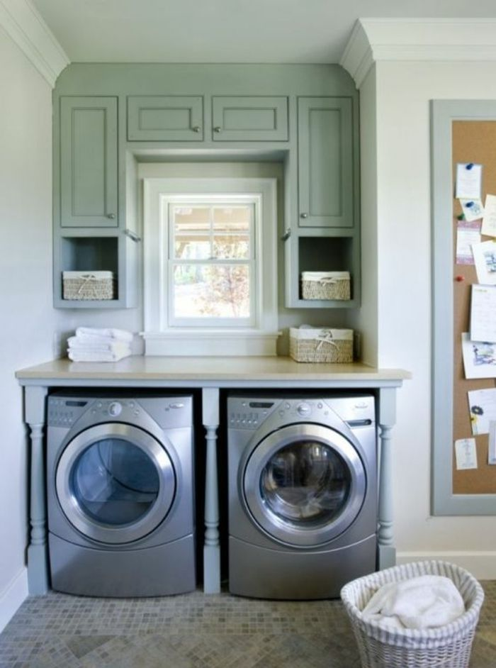 1001 id es comment am nager sa buanderie fonctionnelle laundry rooms laundry and room. Black Bedroom Furniture Sets. Home Design Ideas