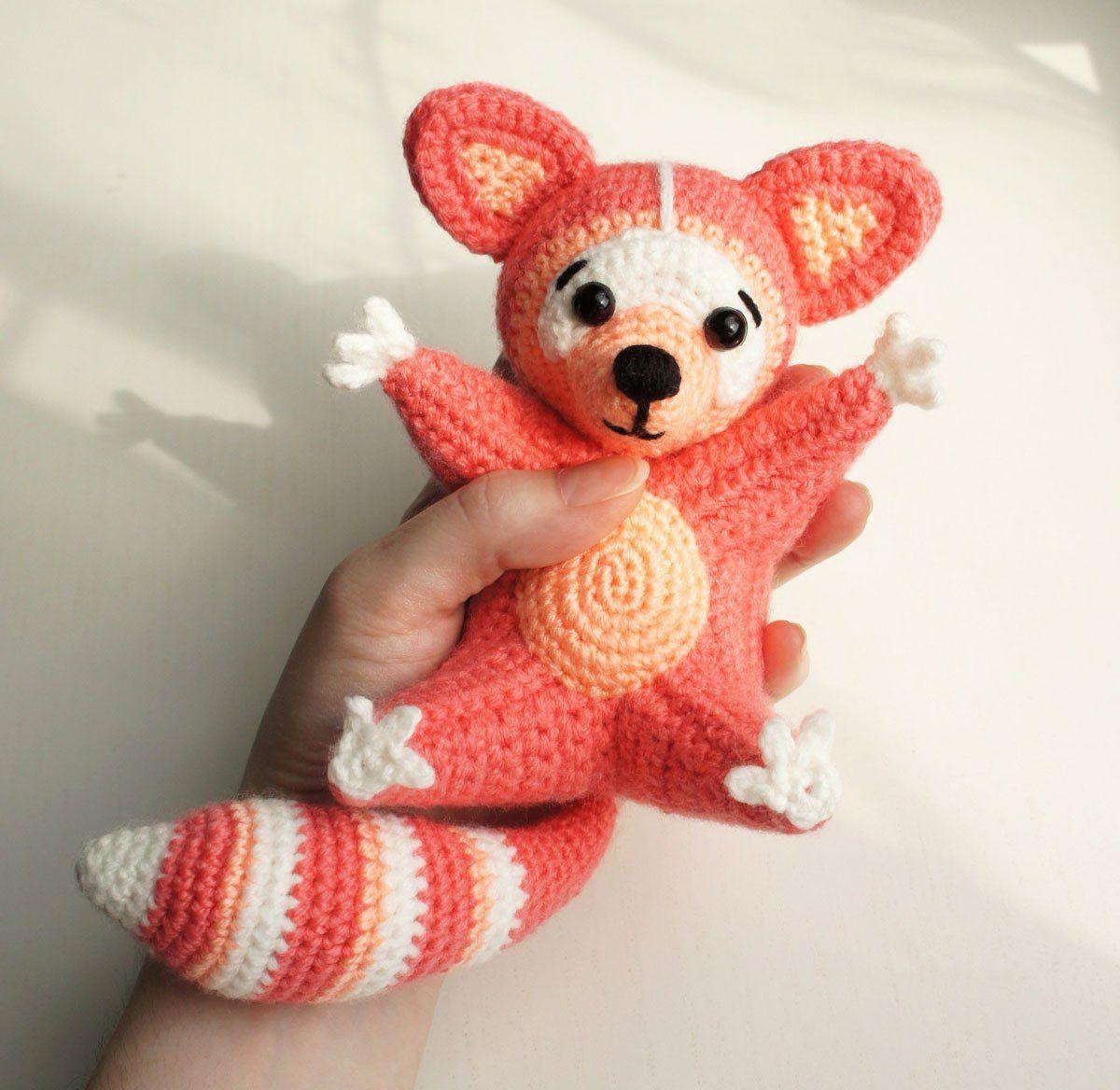 Free raccoon amigurumi pattern   Free pattern   Pinterest   Mapache ...
