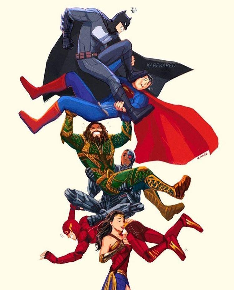 Wonder Woman S Carrying The Justice League Dc Comics Wallpaper Dc Comics Art Dc Comics