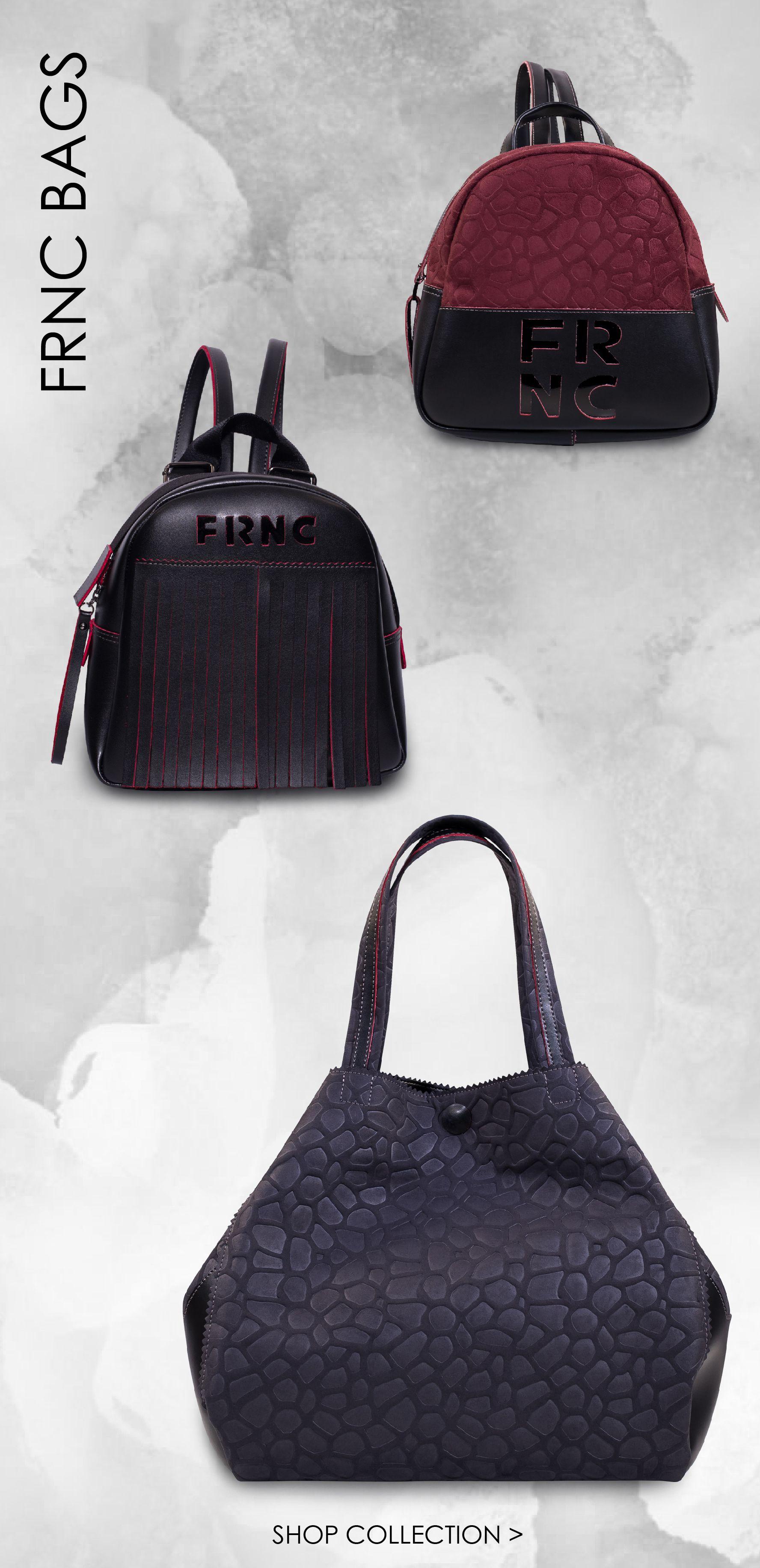 FRNC big shoulderbag for style o´clock Black | Bags