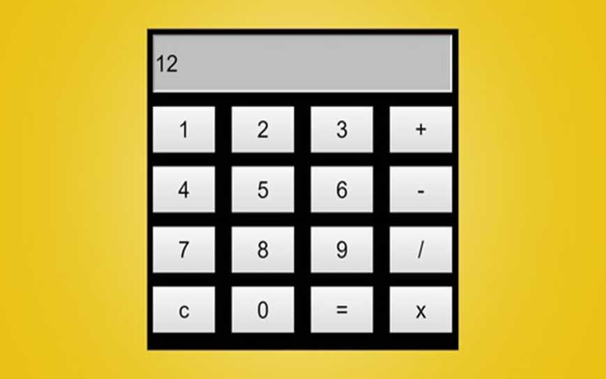 100 Off Javascript Build A Calculator Using Html Css And Javascript Simple Calculator Calculator Design Javascript