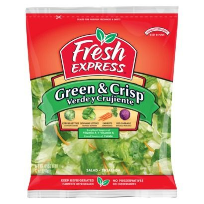 Fresh Express Early Harvest Green & Crisp Lettuce Blend 12-oz. (071279108049) Find packaged vegetables and herbs at Target.com! Fresh express early harvest green & crisp lettuce blend 12-oz.