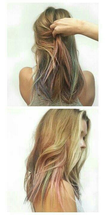 Mermaid Hairstyles Subtle Mermaid Hair  Hairstyles To Try  Pinterest  Mermaid Hair