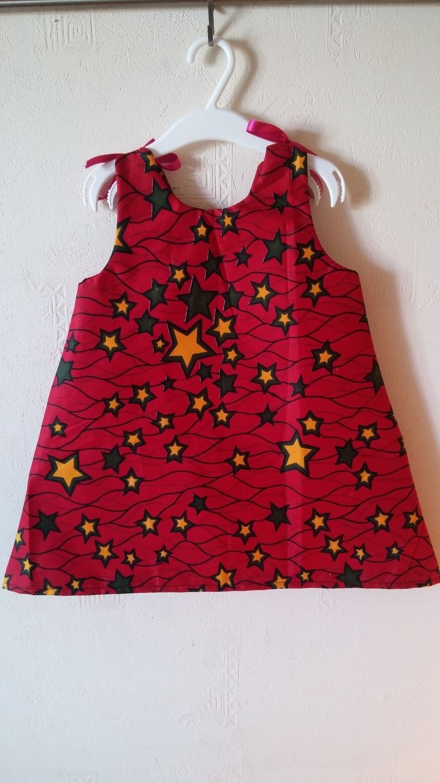 3f7005faad390 Petite Robe Véritable Wax   taille 3 ans   Mode filles par tidi-wax
