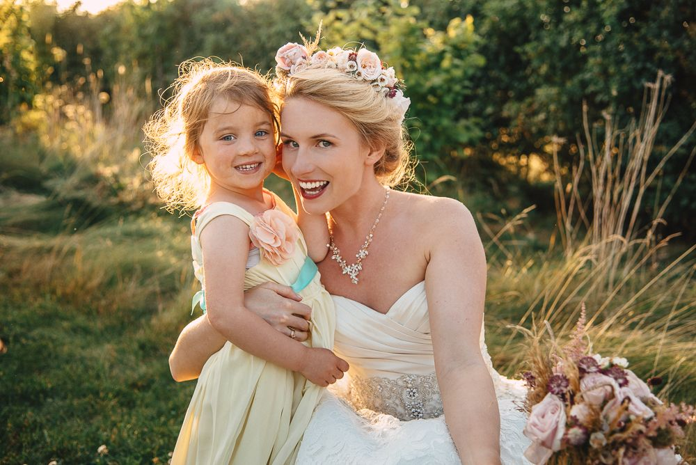 The bride with a flower girl #weddingphotography #weddingphotographer #weddingphotographersurrey #weddingphotographerwindsor #weddingphotographercroydon #weddingphotographersurrey #photographersurrey #weddingphotographyinlondon #weddingphotographerluton