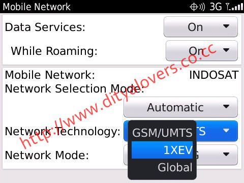 How to Inject Blackberry CDMA