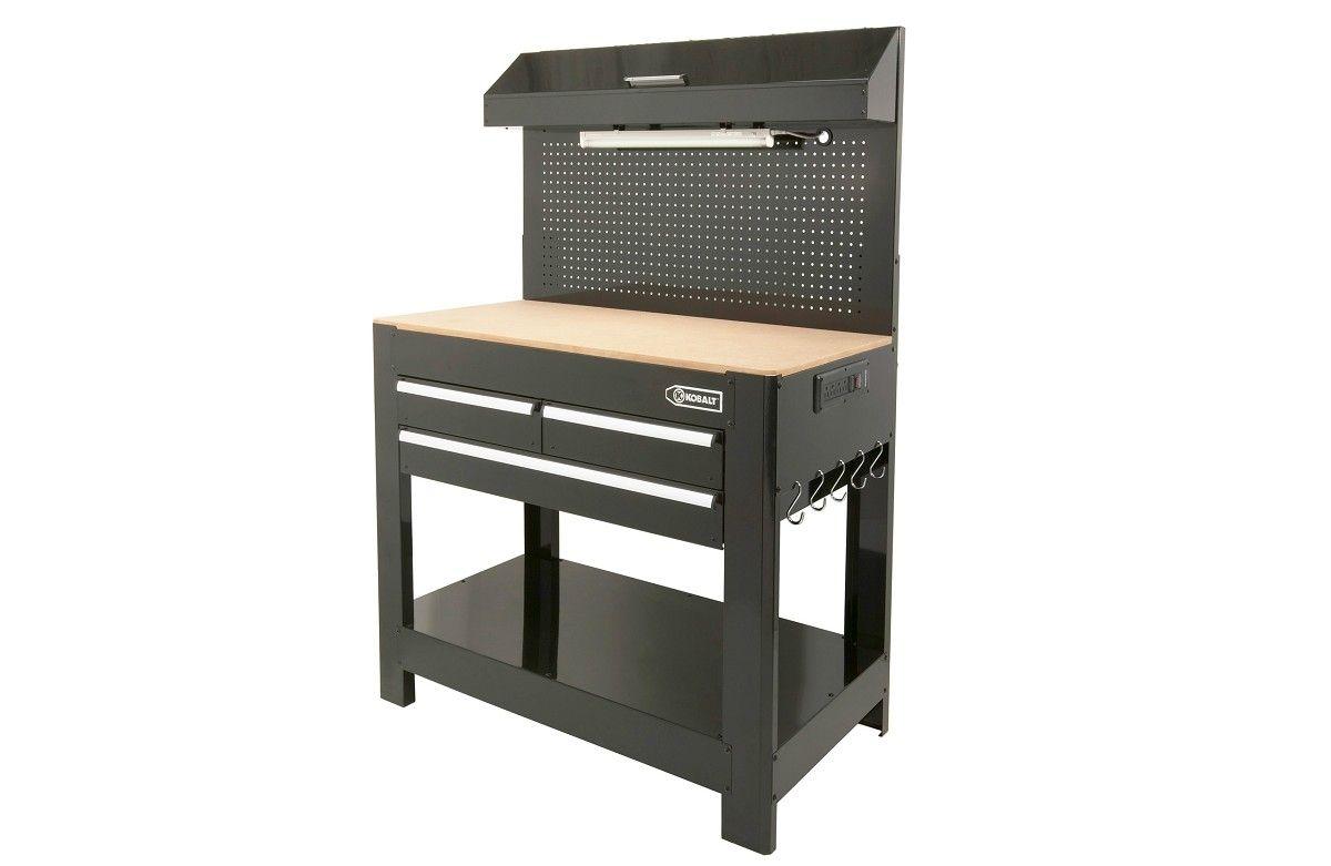 Kobalt 174 Heavy Duty 3 Drawer Work Bench 198 Tools I Want