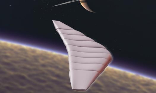 Tähdet ja avaruus: Titan-kuun liitäjästä valmistetaan prototyyppi