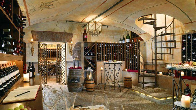 am nagement cave vin conseils et exemples de d coration cave vins wine cellar cellar. Black Bedroom Furniture Sets. Home Design Ideas