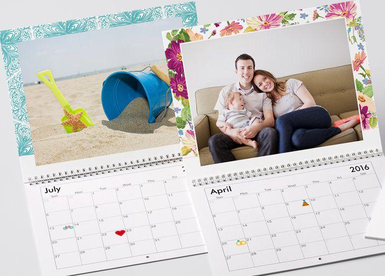 Wall calendars photo calendar top christmas gifts calendar