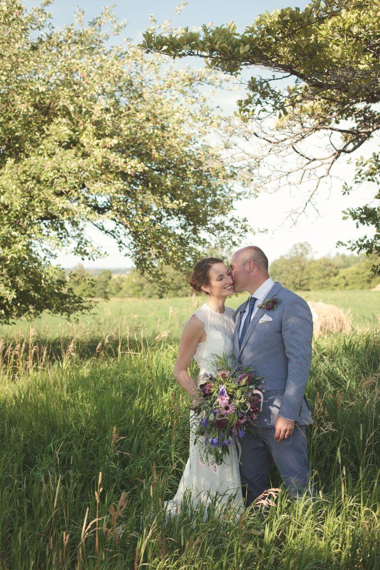 Casual country farm wedding in ontario country farm ontario and