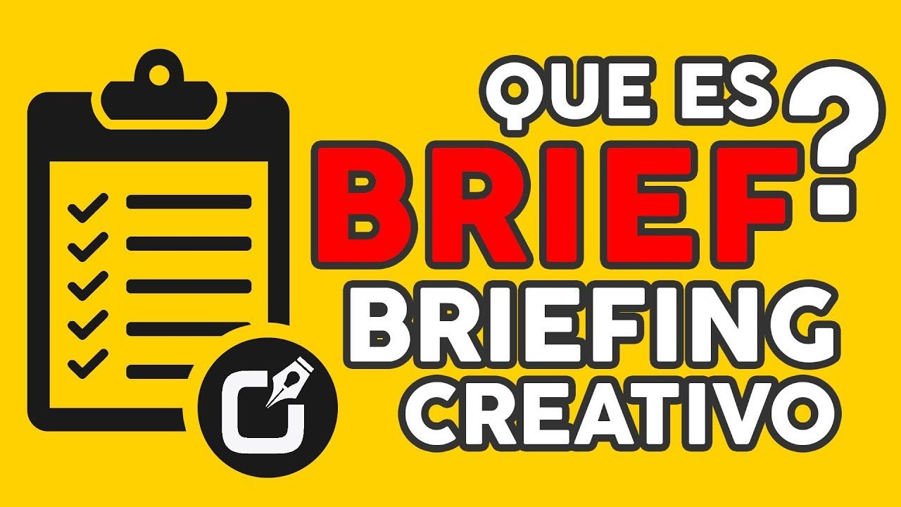 Como Hacer un BRIEF O BRIEFING creativo + plantilla Gratis ...