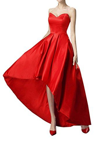 Charm Bridal Long Sweetheart Red Women Wedding Party Evening Gowns Prom Dress