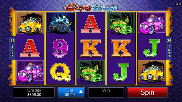 Supe It Up Slot Machine