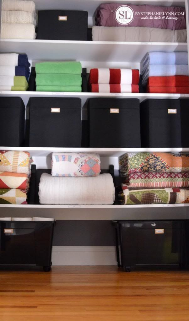 DIY Linen Closet
