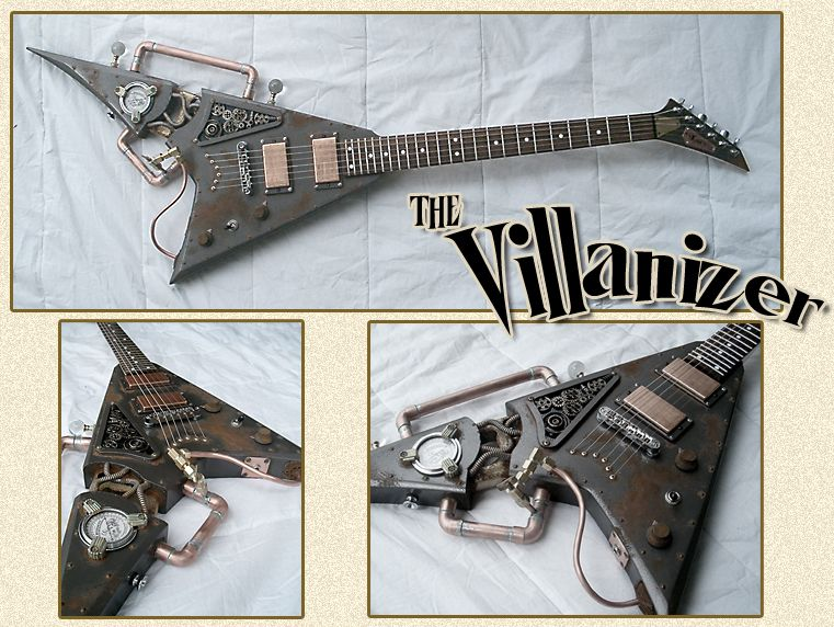 Jeff Ritzmann, Thunder Eagle Guitars - The Villanizer