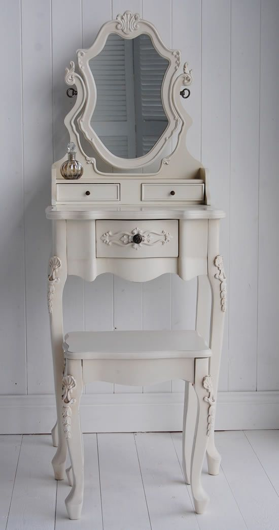 mirror with small dressing white table size full of vanity leg large narrow