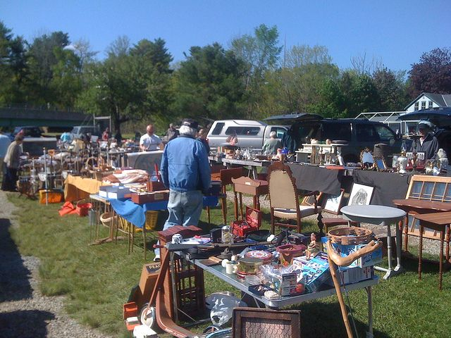 1st montsweag adventure of the summer camden maine road for Fishing flea market near me